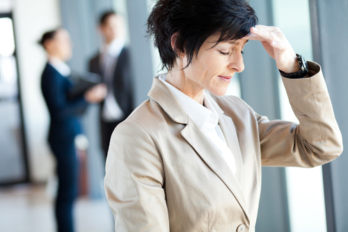 How do professional women cope with the menopause at work?